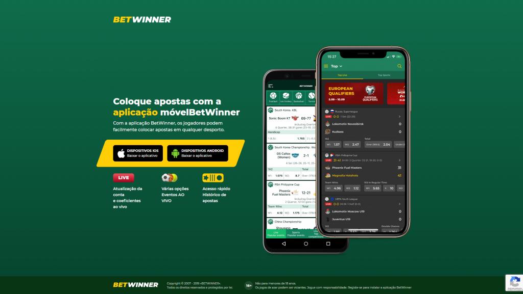 Betwinner mobile